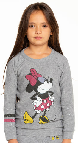 Chaser Minnie Mouse - Minnie Bow Sweatshirt