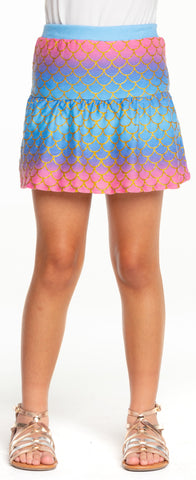 Chaser Mermaid Flouncy Mini Skort