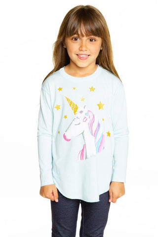 Chaser Unicorn Dream L/S Shirttail Tee