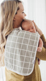 Copper Pearl Urban Premium Burp Cloth Set