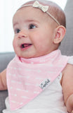 Copper Pearl Rosie Bandana Bib Set