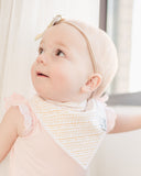 Copper Pearl June Bandana Bib Set