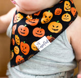 Copper Pearl Spook Bandana Bib Set