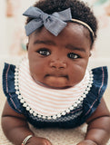 Copper Pearl Audrey Fashion Bib Set