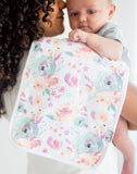 Copper Pearl Bloom Premium Burp Cloth Set