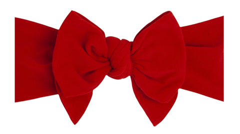 Baby Bling Solid Red DEB Headband