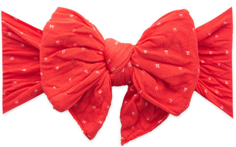 Baby Bling Cherry Dot DEB Bow