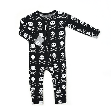 Gigi and Max Skelly Zip One Piece
