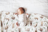 Copper Pearl Noah Knit Swaddle Blanket