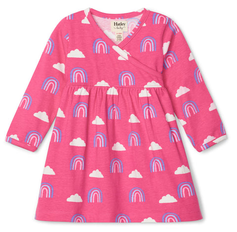 Hatley Happy Rainbows Cross Over Dress