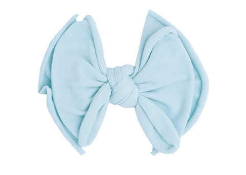 Baby Bling Chambray FAB-BOW-LOUS Clip