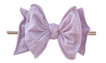Baby Bling Light Orchid / Blush FAB-BOW-LOUS Skinny Headband