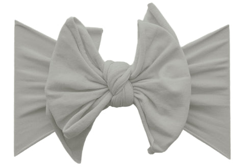 Baby Bling Grey FAB-BOW-LOUS Basically Bows & Bowties