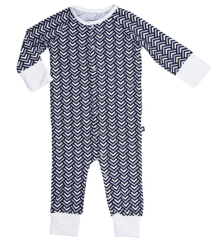 Sweet Bamboo Diagonal Raglan Romper - Basically Bows & Bowties