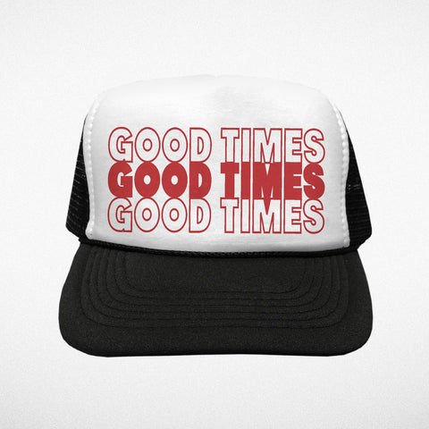 Tiny Whales Good Times Trucker Hat