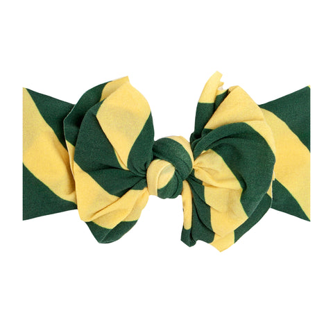 Baby Bling Green / Yellow Printed FAB-BOW-LOUS
