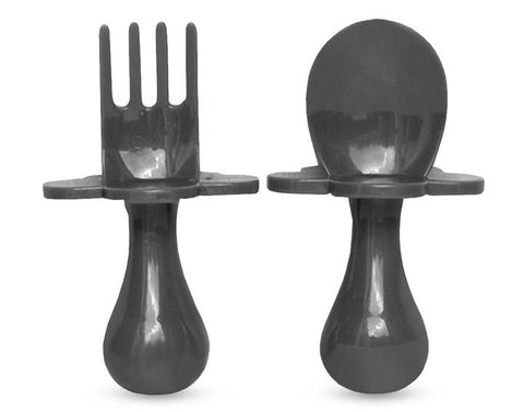 Gray Dream Grabease Fork & Spoon Set