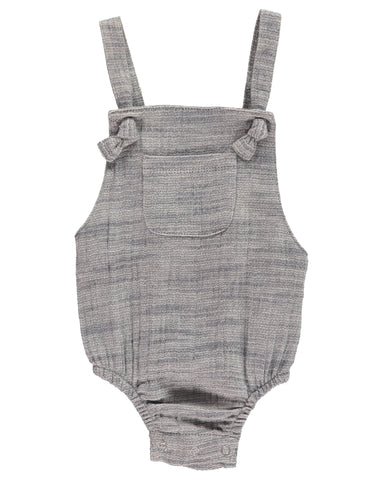 Me & Henry Grey Bubble Romper