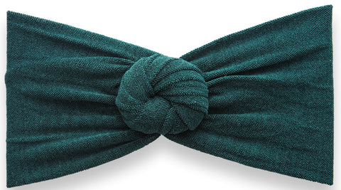 Baby Bling Heathered Bun-Forest Green - Basically Bows & Bowties