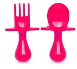 Think Pink Grabease Fork & Spoon Set