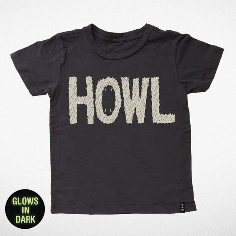 Tiny Whales Howl (Glow in the Dark) Tee