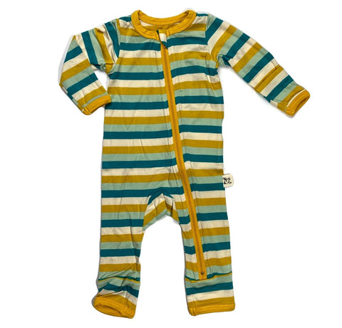 Kozi & Co Grasshopper Stripe Coverall