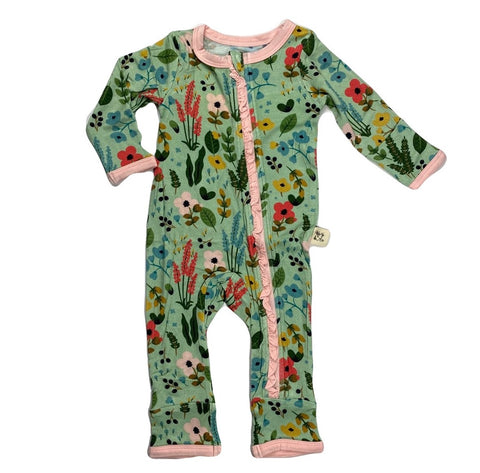 Kozi & Co Le Jardin Ruffle Coverall