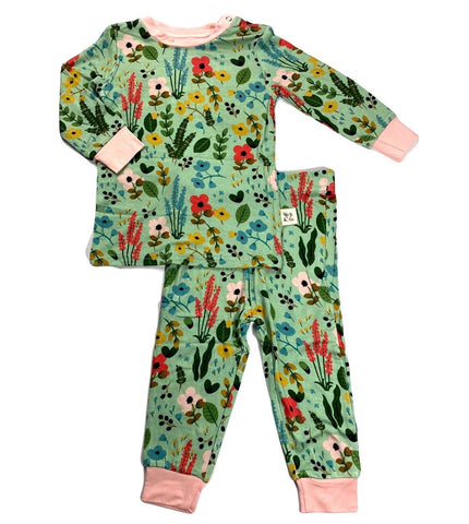 Kozi & Co Le Jardin L/S Pajama Set with Pants