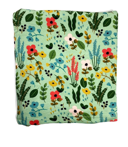 Kozi & Co Le Jardin Swaddle Blanket