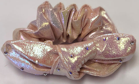 Bari Lynn Light Pink Galaxy Scrunchie