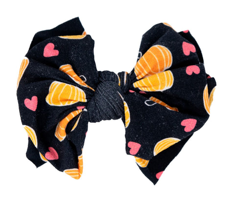 Baby Bling Jack Printed FAB-BOW-LOUS Clip