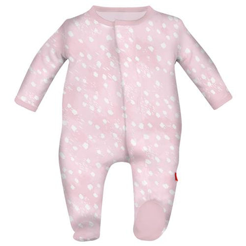 Magnetic Me Doeskin Pink Modal Magnetic Footie