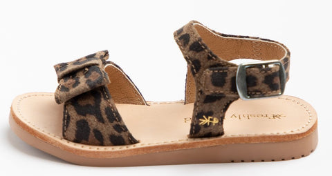 Freshly Picked Leopard Bayview Sandals Basically Bows & Bowties