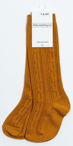 Little Stocking Co Knee High Sock - Butterscotch