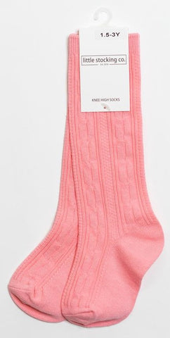 Little Stocking Co Knee High Sock - Bubblegum