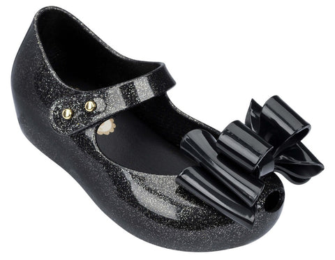 Mini Melissa Ultragirl Sweet-Black/Silver