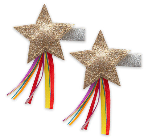Baby Bling Shooting Star Clip Set