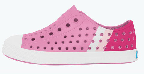 Native Jefferson Block-Malibu Pink/Shell White