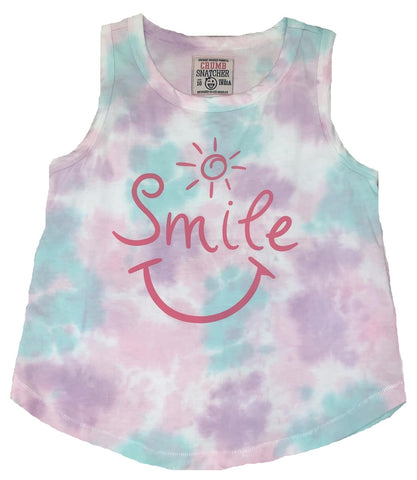 Crumbs Kids Tie Dye Smile Tank