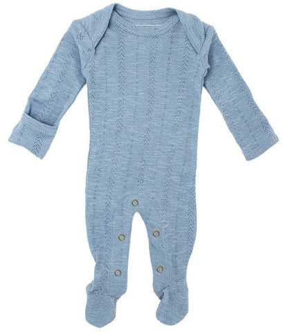 L'ovedbaby Pool Pointelle Lap Shoulder Footie