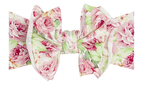 Baby Bling Bed of Roses Printed FAB Headband