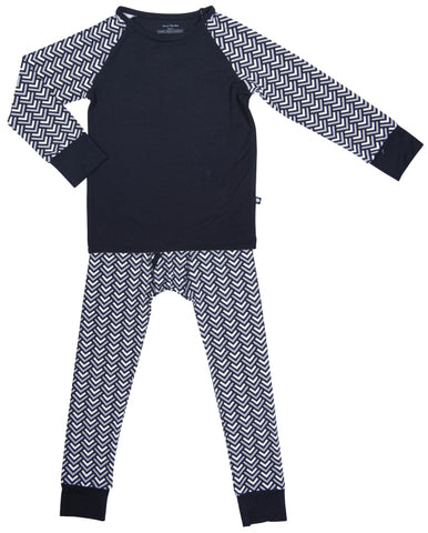 Sweet Bamboo Stacking V 2pc Pajama Set