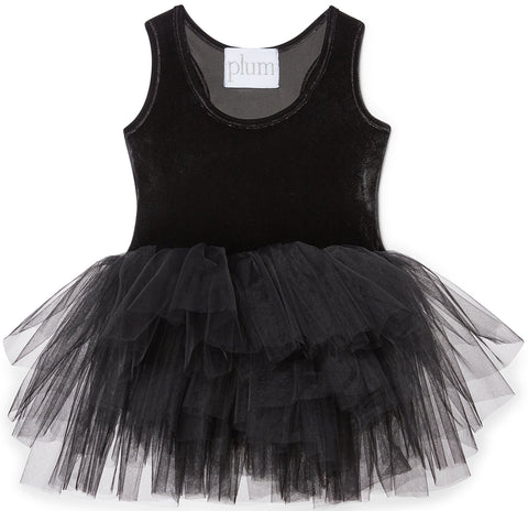 iloveplum North Black Velvet Tutu - Basically Bows & Bowties