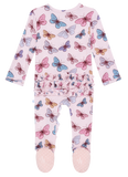 Posh Peanut Nora Ruffled Zippered Footie