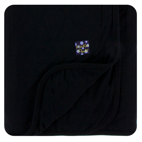 KicKee Pants Solid Midnight Stroller Blanket