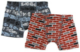 KicKee Pants Stone London Towns & London Brick Boxer Briefs Set