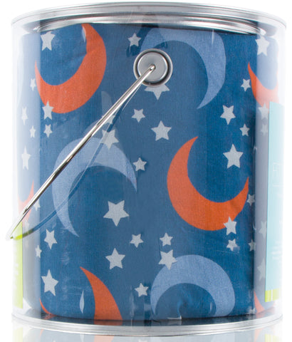 KicKee Pants Twilight Moon and Stars Fitted Crib Sheet - Basically Bows & Bowties