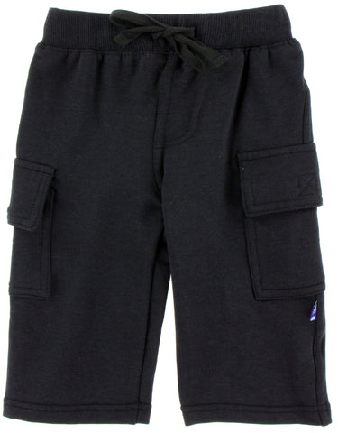 KicKee Pants Zebra Fleece Cargo Sweatpants