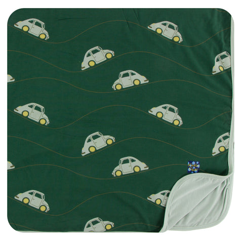 KicKee Pants Topiary Italian Car Toddler Blanket