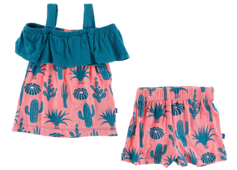 KicKee Pants Strawberry Cactus Cancun Girl Outfit